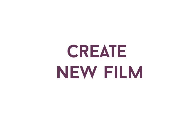 Raccorder script supervisor create new film